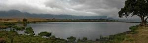 La location, breakfast point Ngorongoro crater