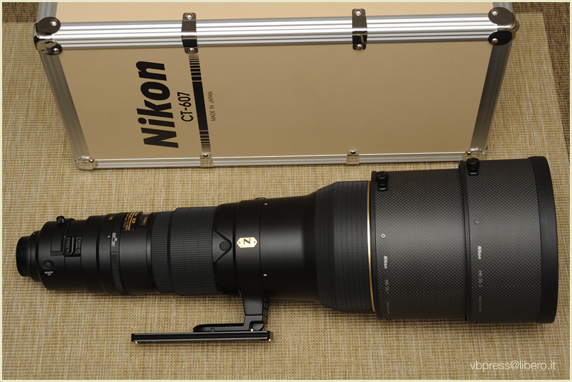 Nikon 600/4 AF S VR G