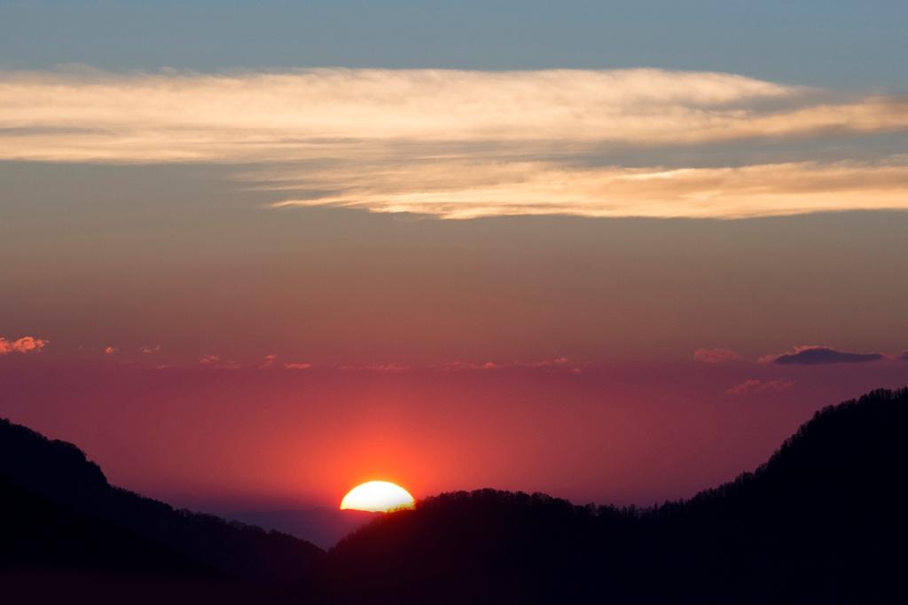 Il sole sorge a balboutet 1