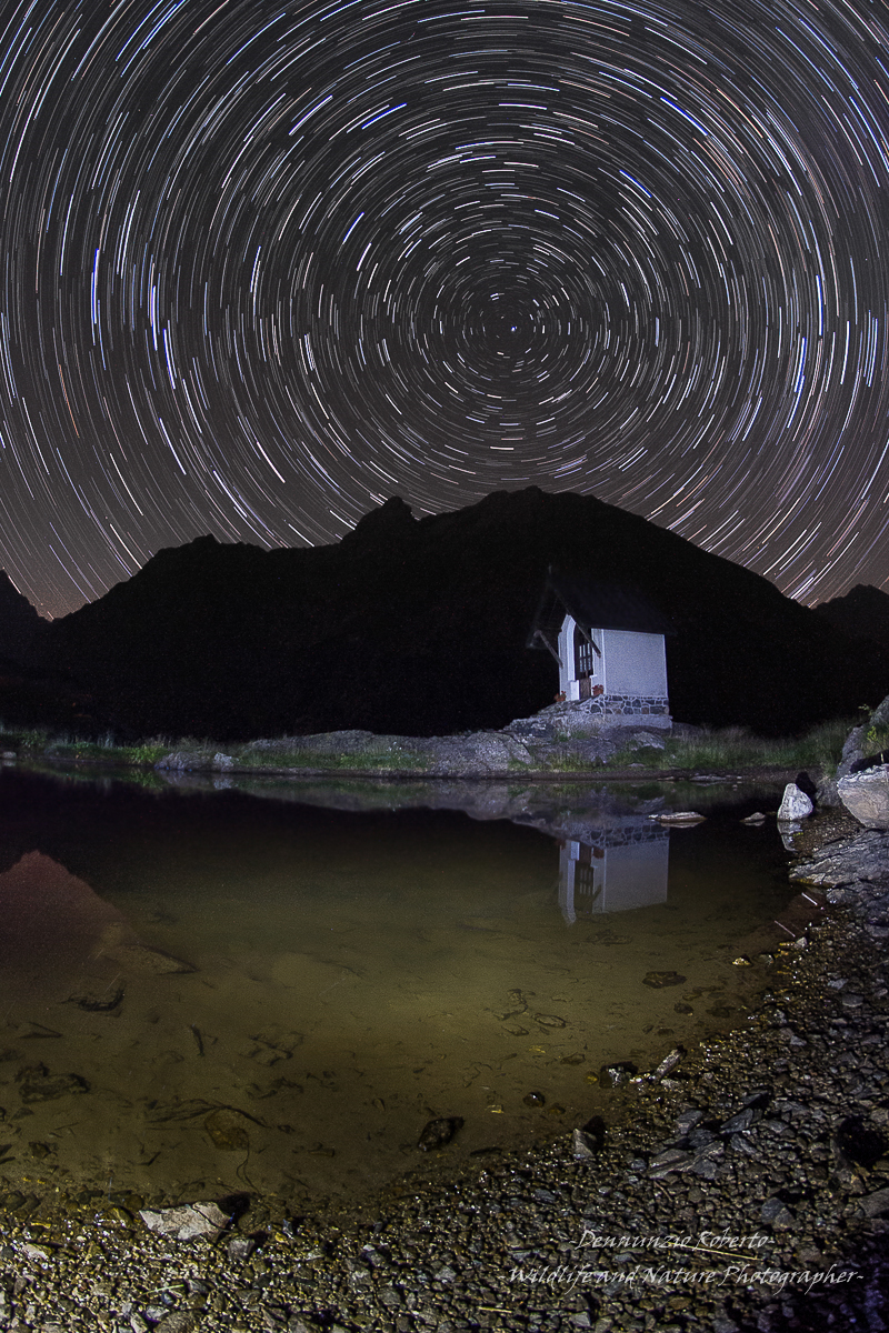 Startrails lightpanting